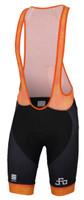 Sagan Logo Body Fit Classic Bib Shorts Orange