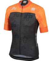 Sagan Logo Bodyfit Team Jersey Orange