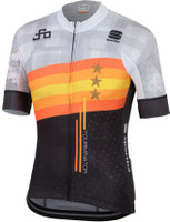 Sagan Stars Bodyfit Team Jersey Light Gray