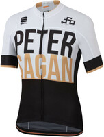 Sagan Gold Bodyfit Team Jersey White