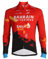 2021 Bahrain Victorious Long Sleeve Jersey