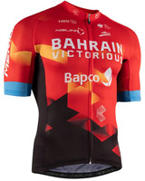 2021 Bahrain Victorious Full Zip Jersey