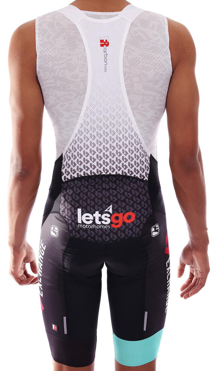 2021 BikeExchange FR-C Pro Bib Shorts Rear