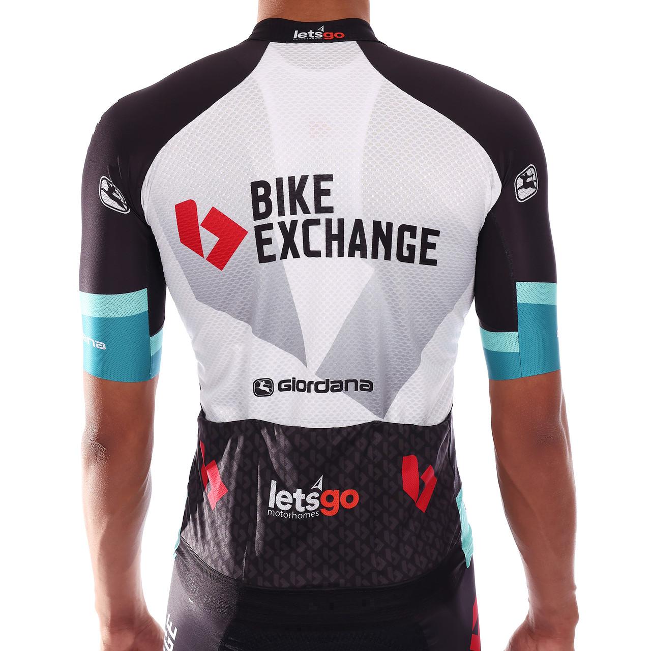 2021 BikeExchange FR-C Pro FZ Jersey Rear