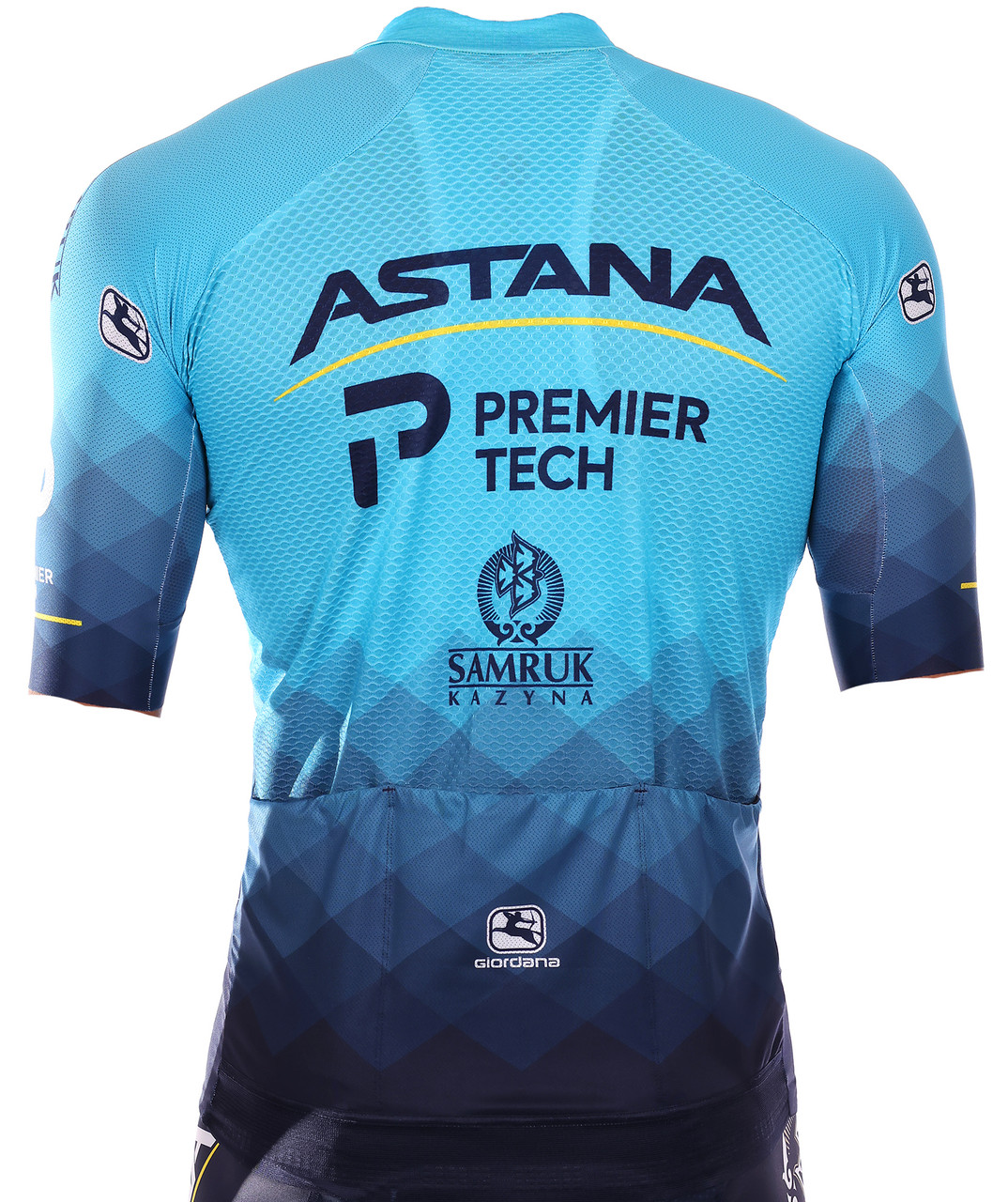2021 Astana Premier Tech FR-C Pro FZ Jersey Rear