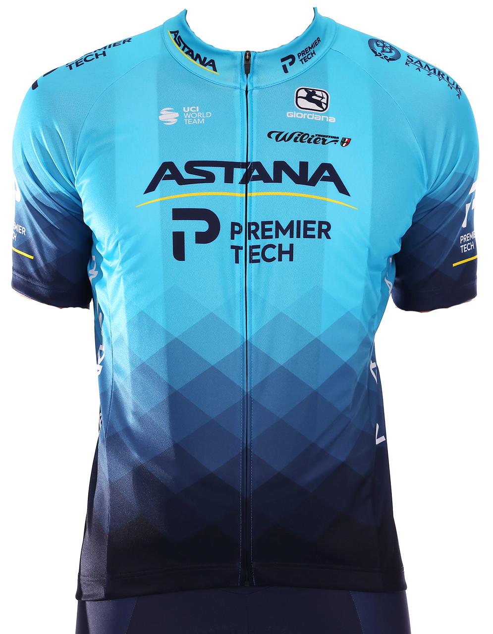 2021 Astana Premier Tech Vero Pro FZ Jersey