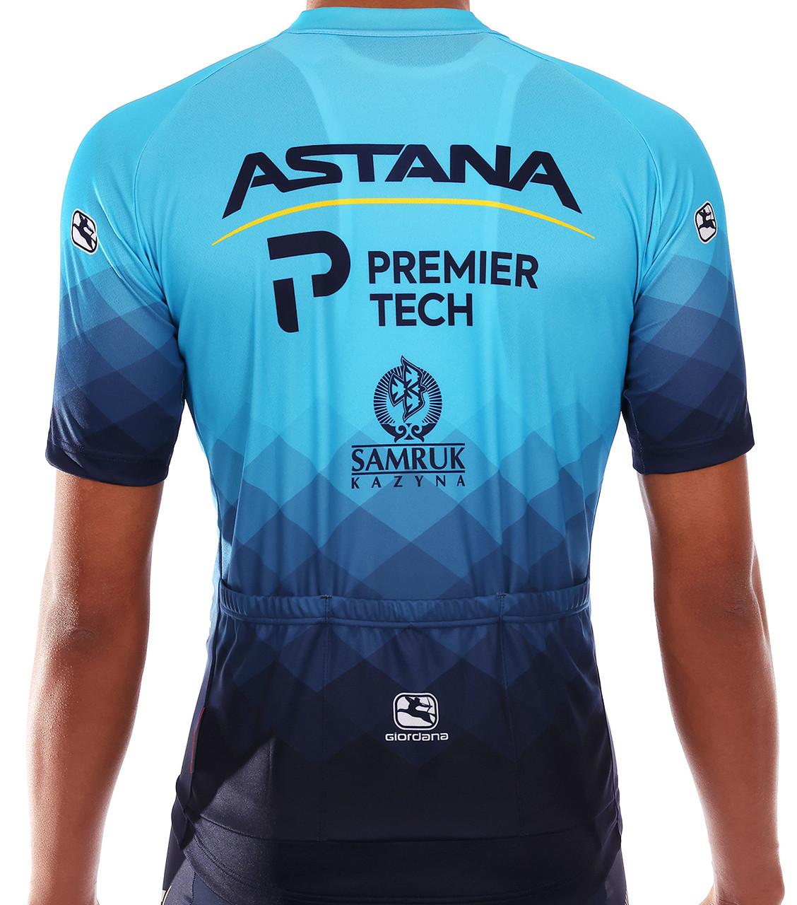 2021 Astana Premier Tech Vero Pro FZ Jersey Rear
