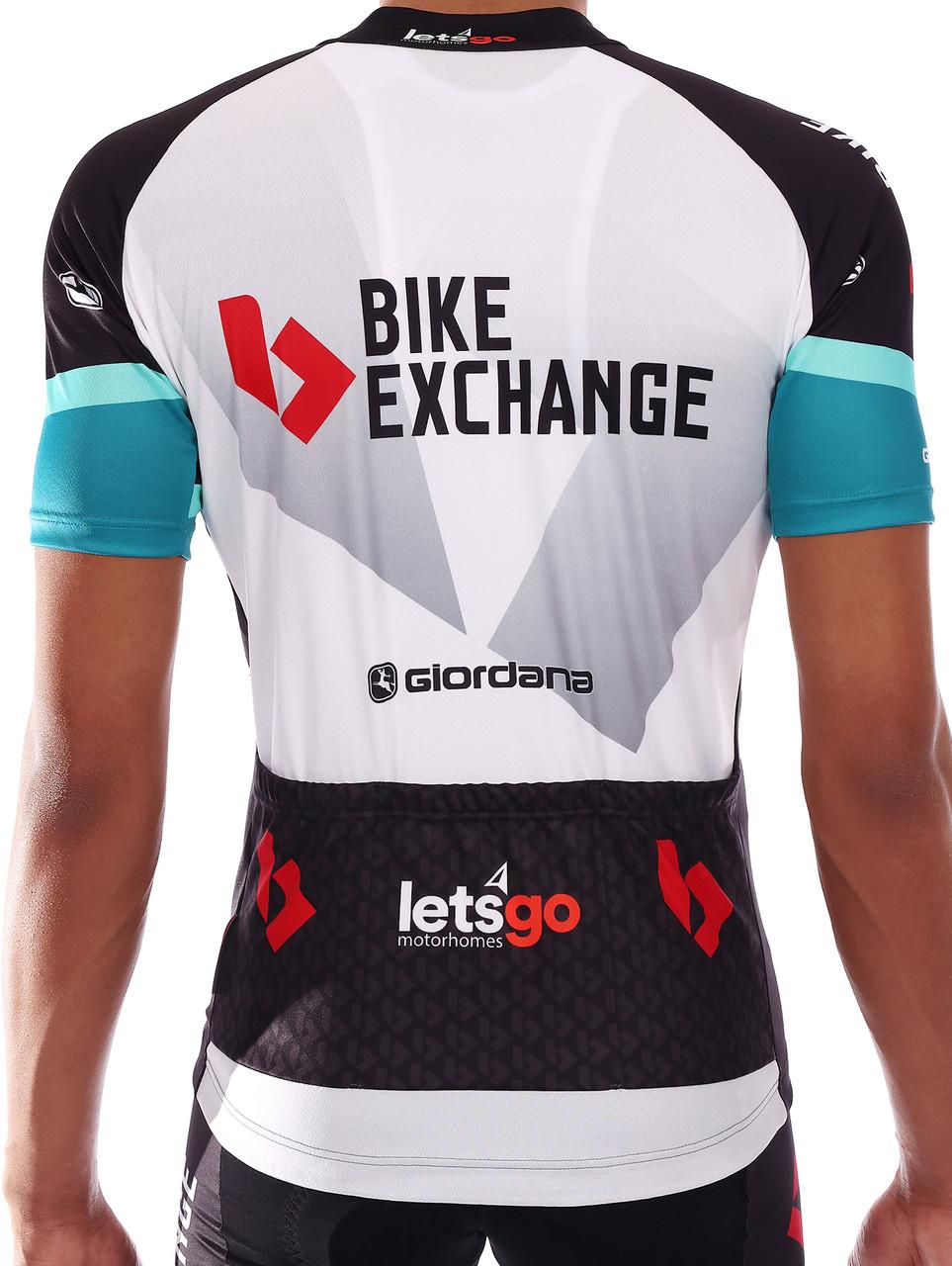 2021 BikeExchange Vero Pro FZ Jersey  Rear