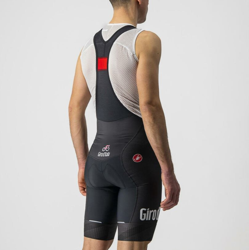 2021 Giro D' Italia 104 Black Competizione Bib Shorts Rear