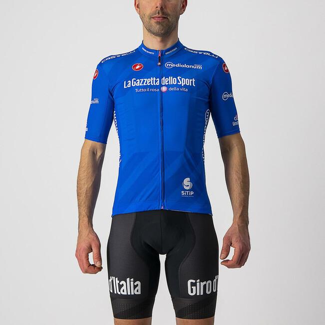 2021 Giro D' Italia Competizione Blue KOM Jersey Rider