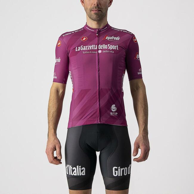 2021 Giro D' Italia Competizione Purple Sprinters Jersey Rider