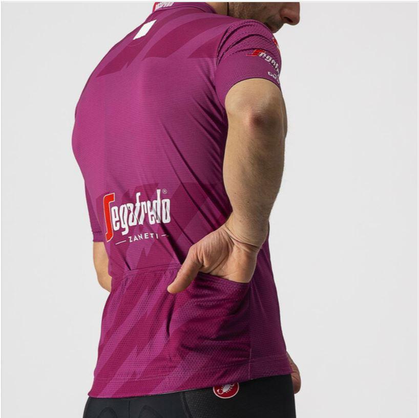2021 Giro D' Italia Competizione Purple Sprinters Jersey Rear