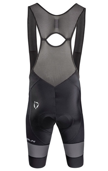 Nalini Reflex BAS Black Bib Shorts Rear
