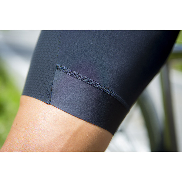 Nalini Ergo BAS Black Bib Shorts Close Up