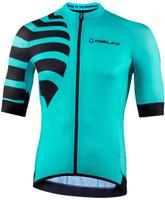 Nalini Stripes BAS Turquoise Jersey