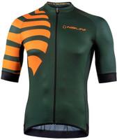 Nalini Stripes BAS Orange Forest Green Jersey
