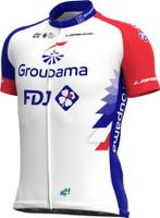 2021 Groupama FDJ Full Zipper Jersey