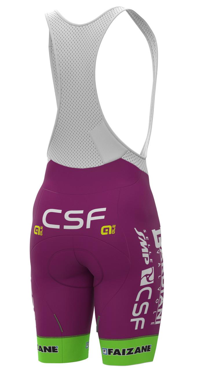 2021 Bardiani CSF Prime Bib Shorts Rear