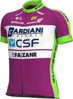2021 Bardiani CSF Prime Full Zipper Jersey