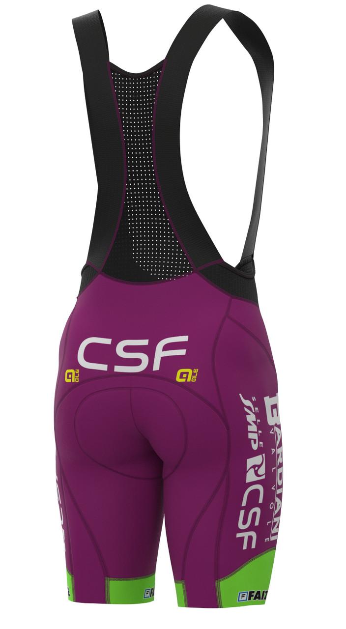 2021 Bardiani CSF PRS Bib Shorts Rear