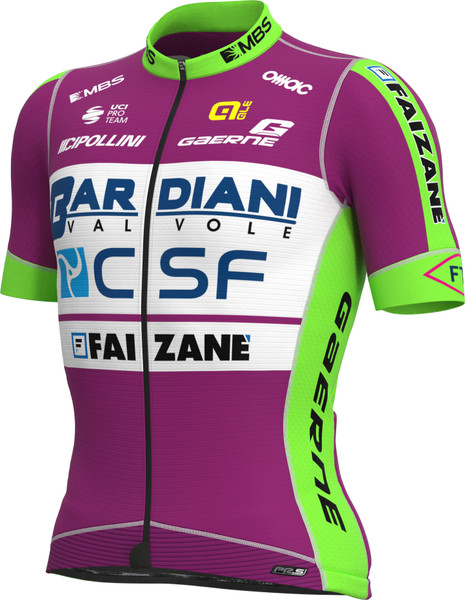 2021 Bardiani CSF PRS Full Zipper Jersey