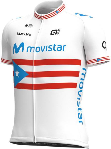 2021 Movistar Puerto Rico Champ Full Zipper Jersey