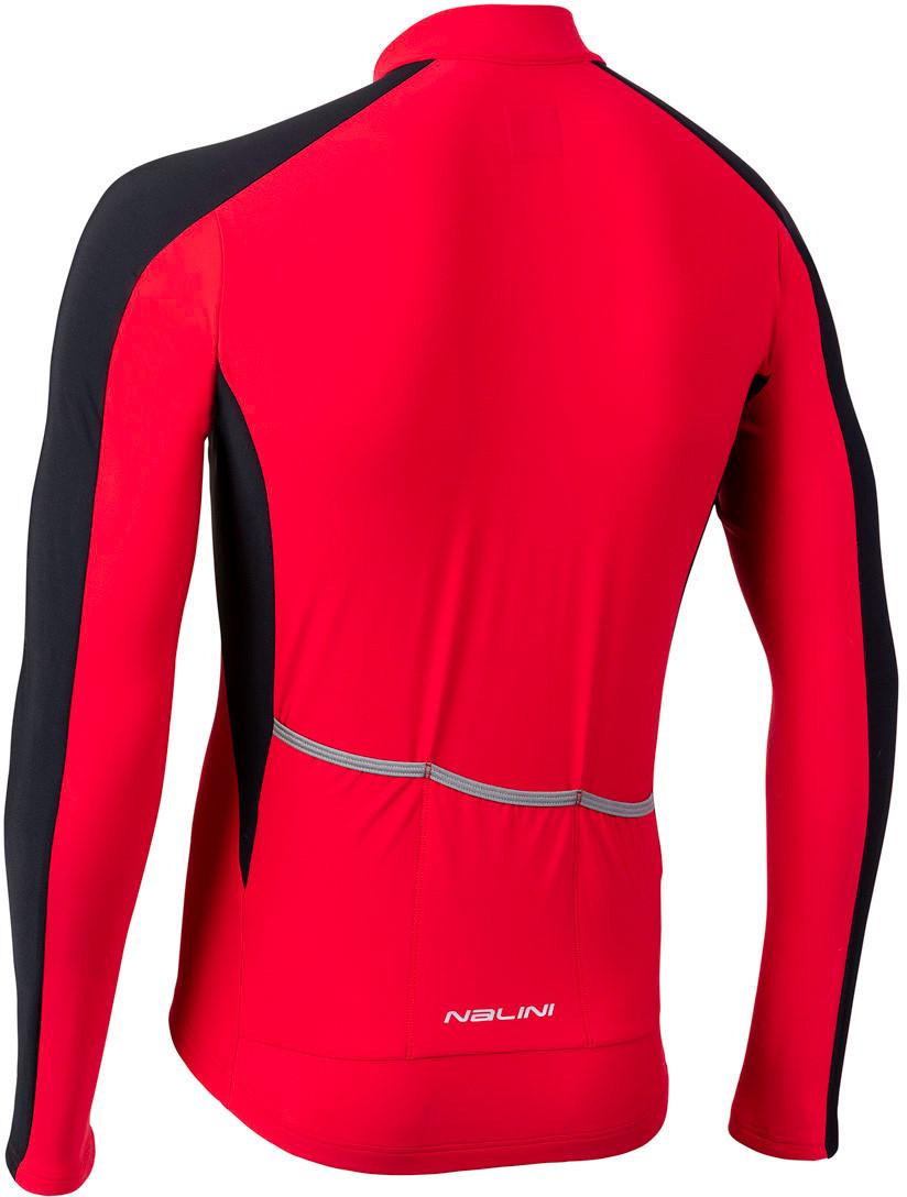 Nalini AIW W 2.0 Red Long Sleeve Jersey Rear