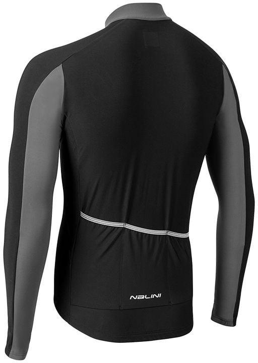 Nalini AIW W 2.0 Black Long Sleeve Jersey Rear