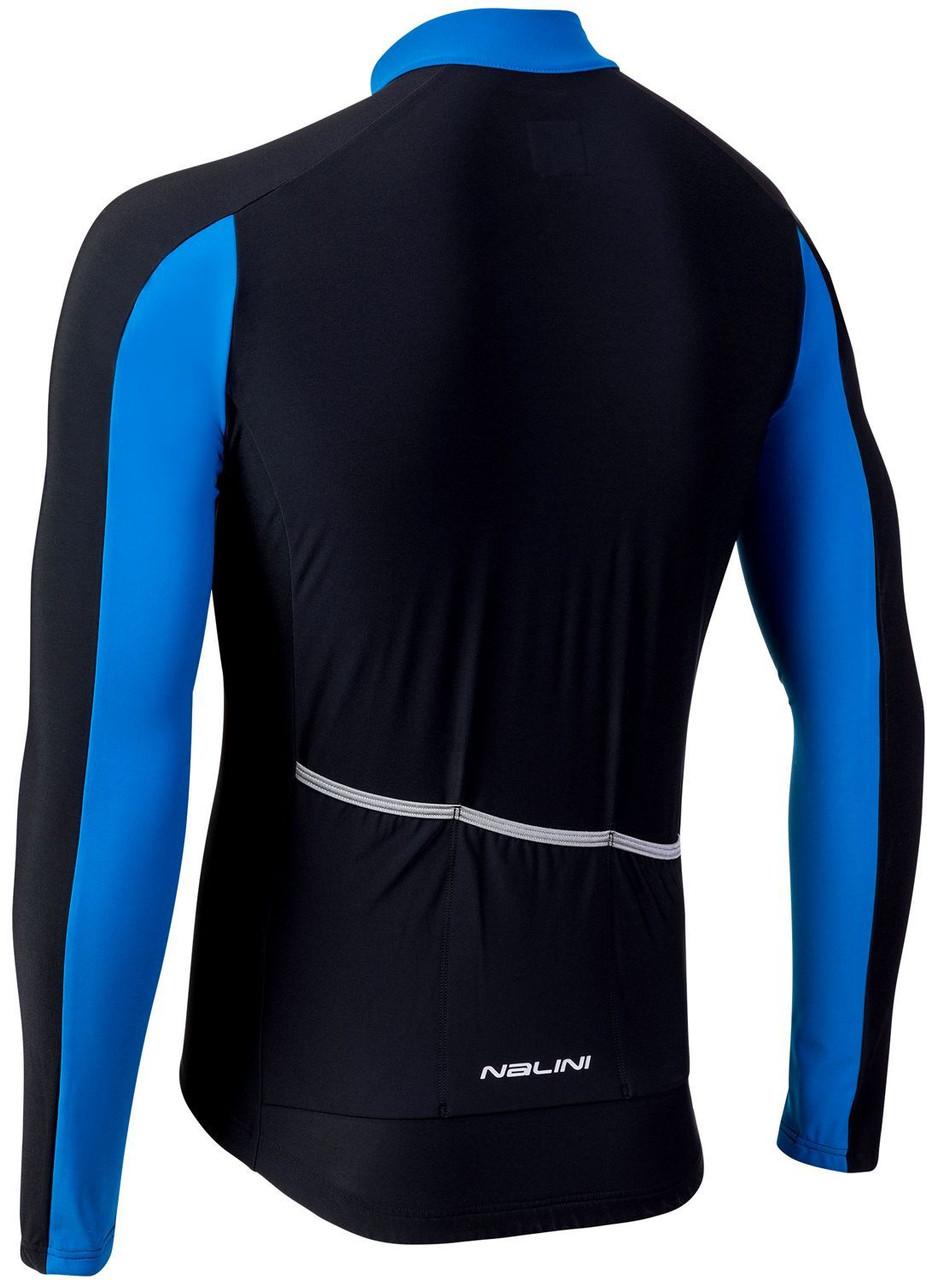 Nalini AIW W 2.0 Blue Long Sleeve Jersey Rear