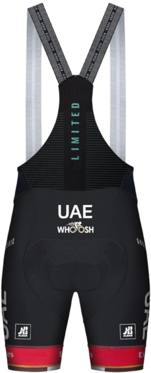 2021 UAE Team Emirates Bib Shorts  Rear