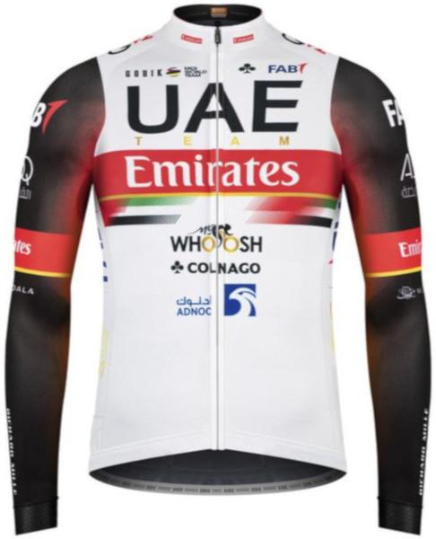 2021 UAE Team Emirates Long Sleeve Jersey
