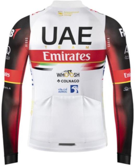 2021 UAE Team Emirates Long Sleeve Jersey Rear