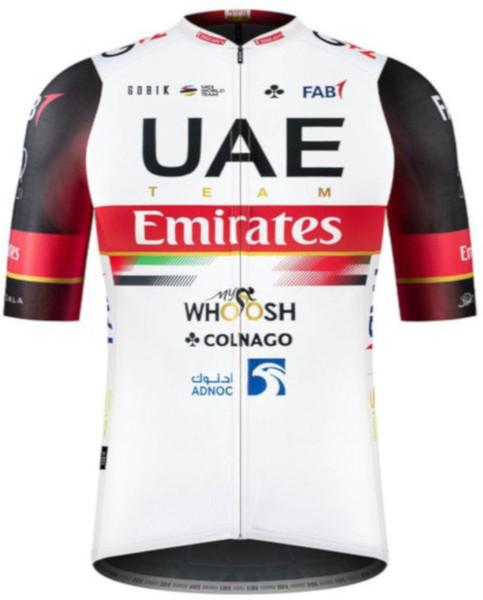 2021 UAE Team Emirates Odyssey Full Zip Jersey