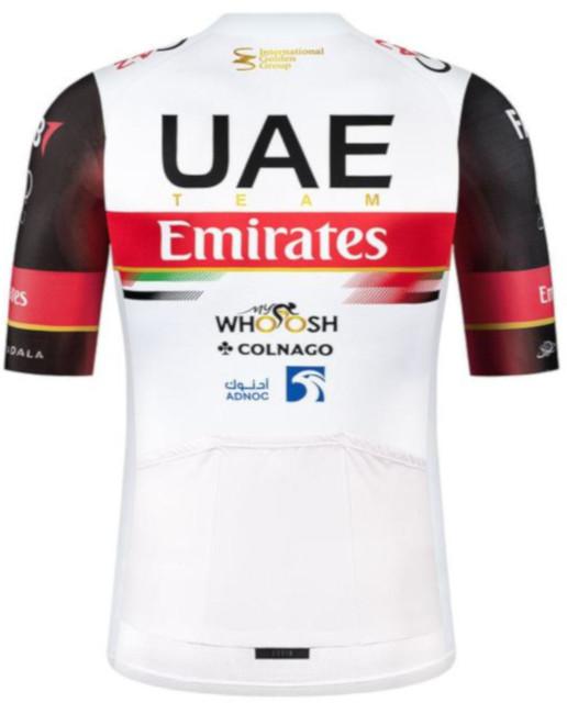 2021 UAE Team Emirates Odyssey Full Zip Jersey Rear