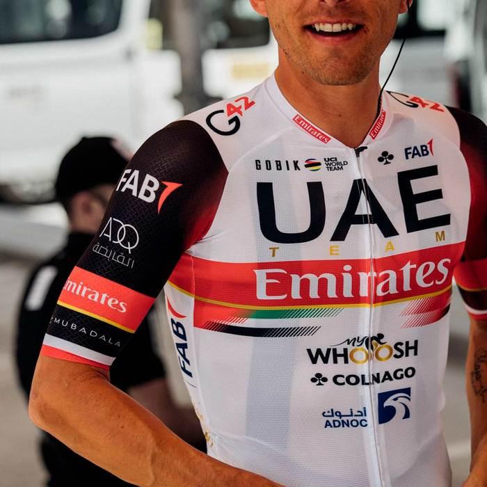 2021 UAE Team Emirates Infinity Full Zip Jersey Rider2