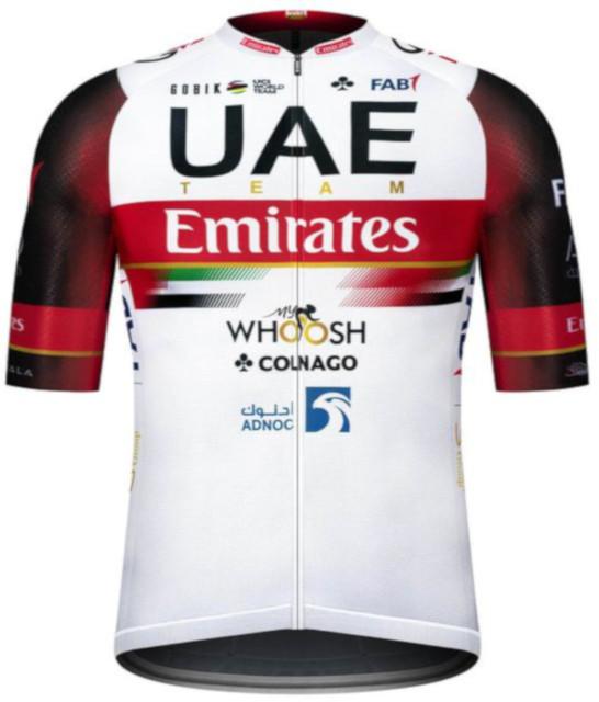 2021 UAE Team Emirates Infinity Full Zip Jersey