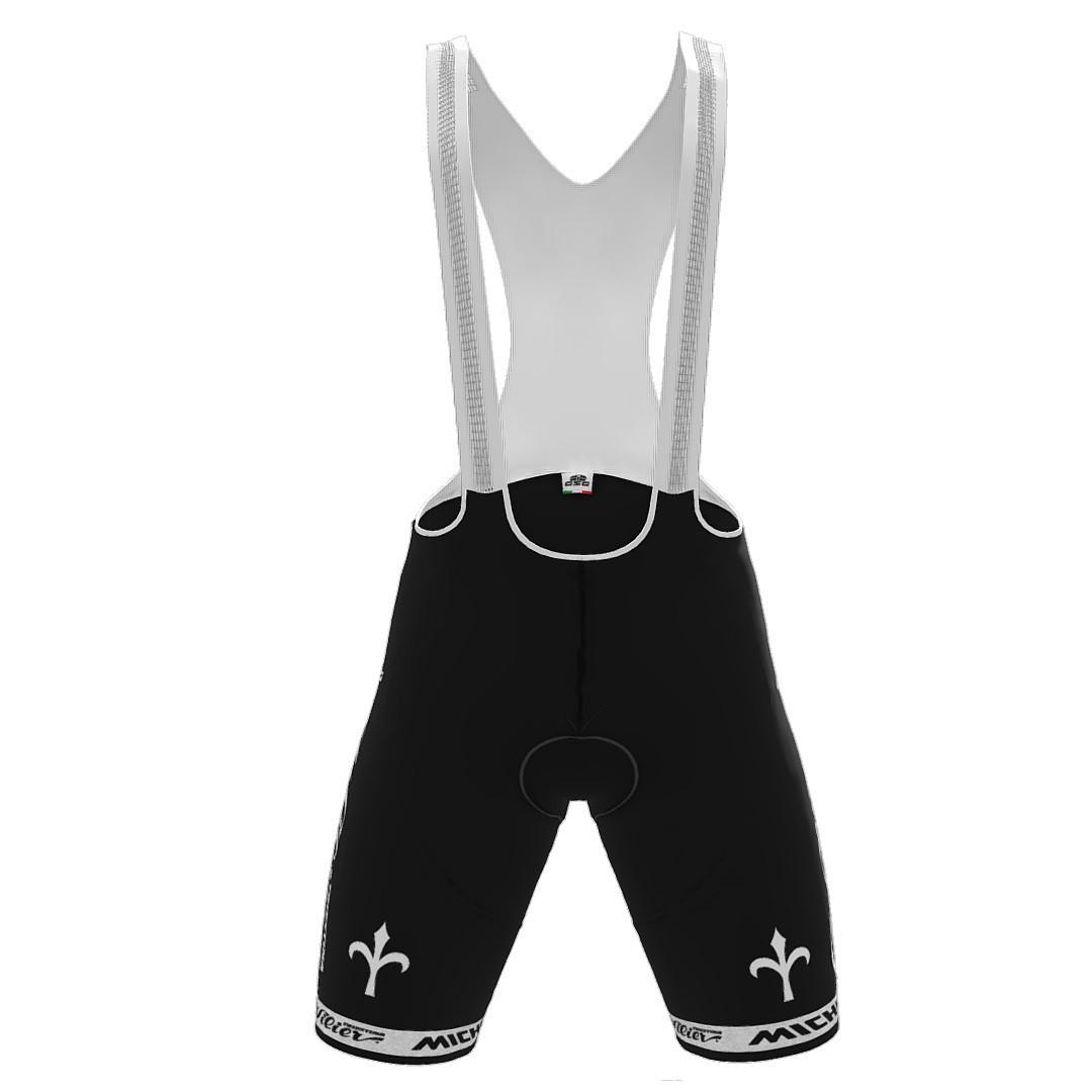 2021 Wilier 7C Force Bib Shorts Rear
