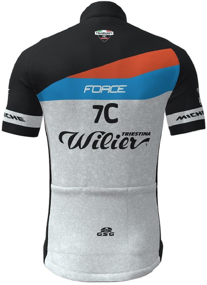 2021 Wilier 7C Force FZ Jersey Rear