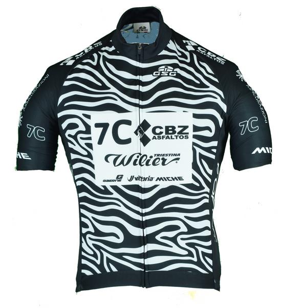 2021 Wilier 7C Force Zebra FZ Jersey
