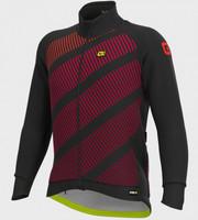 ALE' Tak Wool PRR Thermo Bordeaux Long Sleeve Jacket