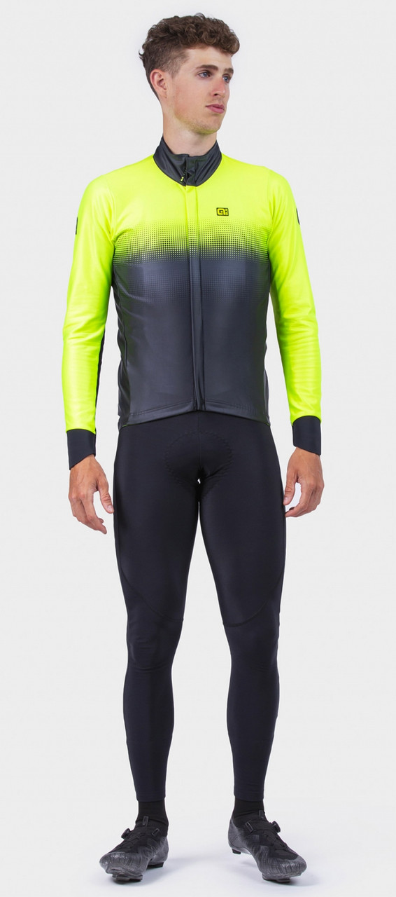 ALE' Gradient PRS Yellow Long Sleeve Jacket Rider