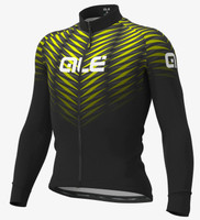 ALE' Thorn Solid Yellow Long Sleeve Jersey