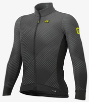 ALE' Storm PRS Gray Long Sleeve Jersey