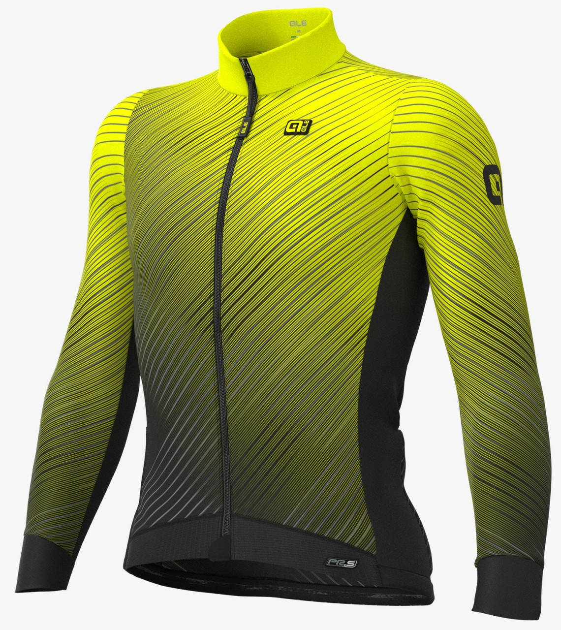 ALE' Storm PRS Yellow Long Sleeve Jersey