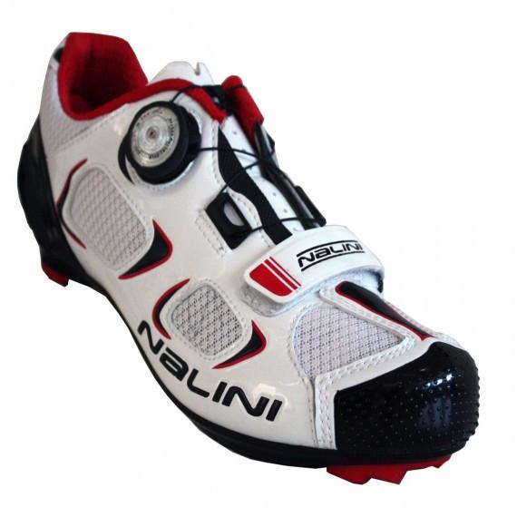 Nalini Snake White Road Shoes