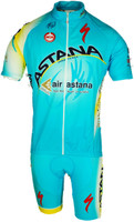 2014 Astana Jersey Front View