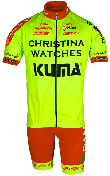 2014 Christina Watches Jersey Front View