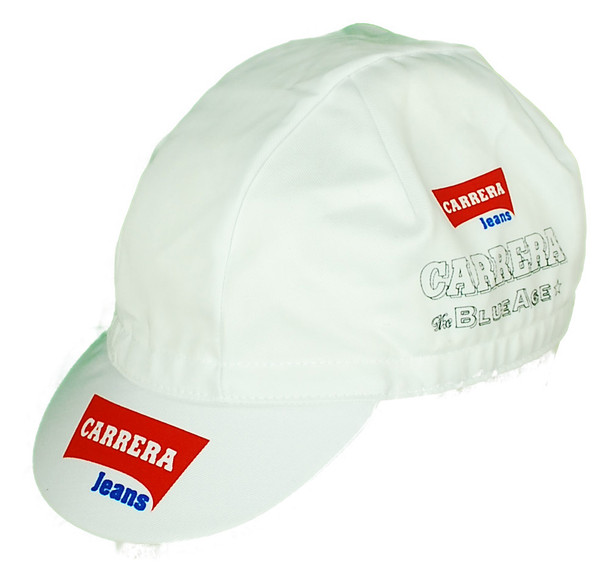 Carrera White Cap Front