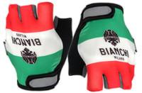 Bianchi Milano Torrenova Italia Flag Gloves Front