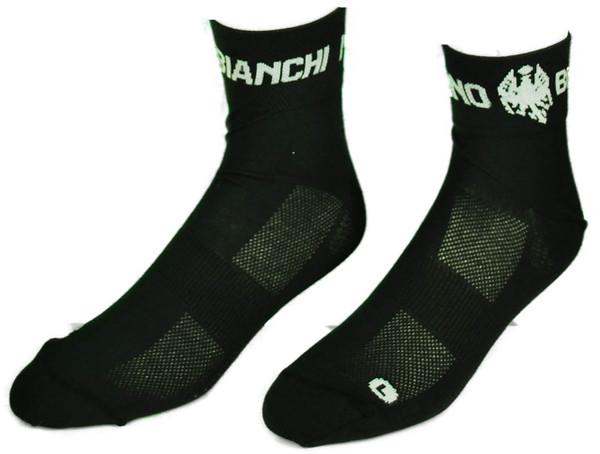 Bianchi Milano Alsfalto Black Socks